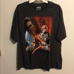 Star Wars Kylo Ren Graphic Shirt Sz XXL